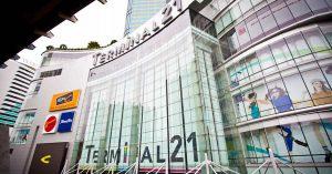 ターミナル21,アソーク,タイ,バンコク,ショッピングモール,行き方,タクシー,BTS,地図,タイ語,住所
