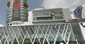 セントラルワールド,CentralWorld,ห้างสรรพสินค้าเซ็นทรั,チットロム,サイアム,タイ,バンコク,伊勢丹,スカイウォーク,行き方,タクシー,BTS,地図,タイ語,住所