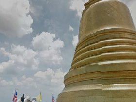 プーカオトーン,黄金の山,วัดสระเกศ,วัด ภูเขาทอง,Wat Phukaothong,Wat Srakesa,ワットサケット,ワットサケート,ワット,タイ,バンコク,観光,観光スポット,寺院,お寺,宗教,施設,