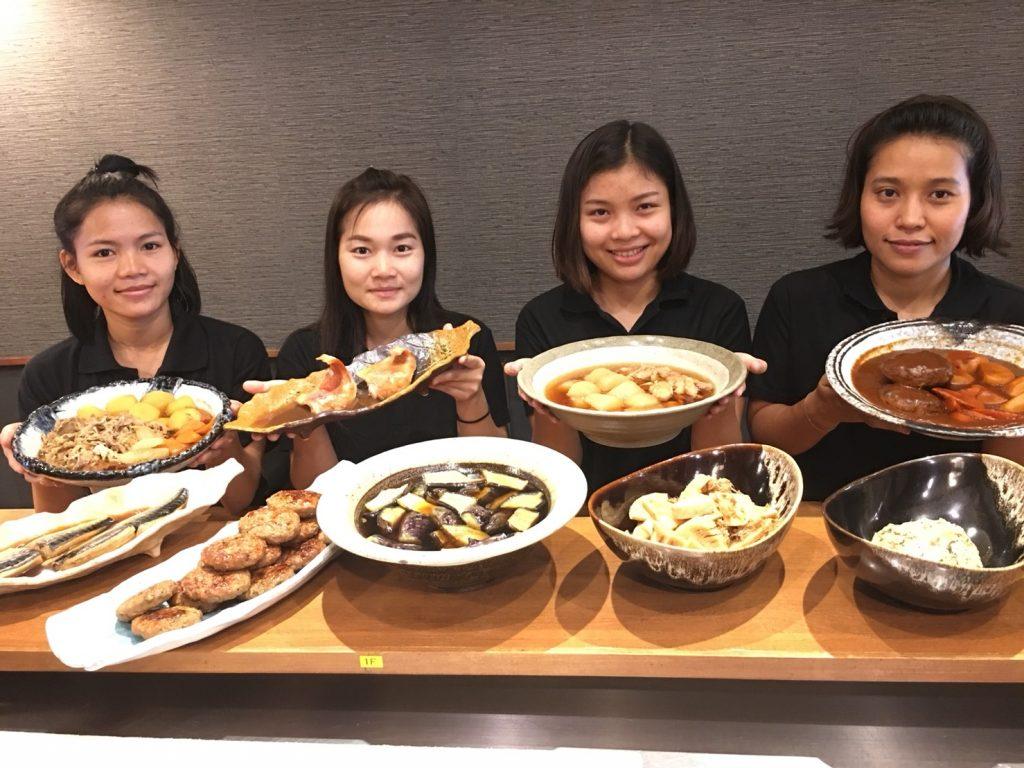 菜遊季,Saiyuki,バンコク,トンロー,日本料理,和食,居酒屋,おばんざい,鍋,てっちり,カニ,松茸,生カキ,定食,日本食