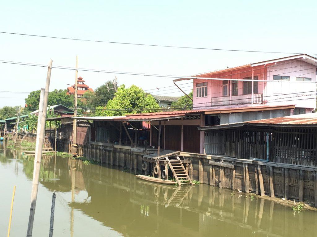 タイ,バンコク,旅行,観光,市場,マーケット,100年市場,タラートクローンスワンロイピー,クローン市場,Khlong Suan Roi Pi old market,ตลาดคลองสวน 100 ปี
