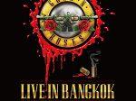 GUNS N' ROSES,ガンズ・アンド・ローゼズ,タイ,ツアー,公演,ライブ,コンサート,2017年,SCGスタジアム,バンコク