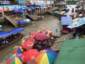 アンパワー水上マーケット,Amphawa Floating Market,ตลาดน้ำอัมพวา,タイ,バンコク,旅行,観光,スポット,水上マーケット,市場,ローカル市場,行き方,説明