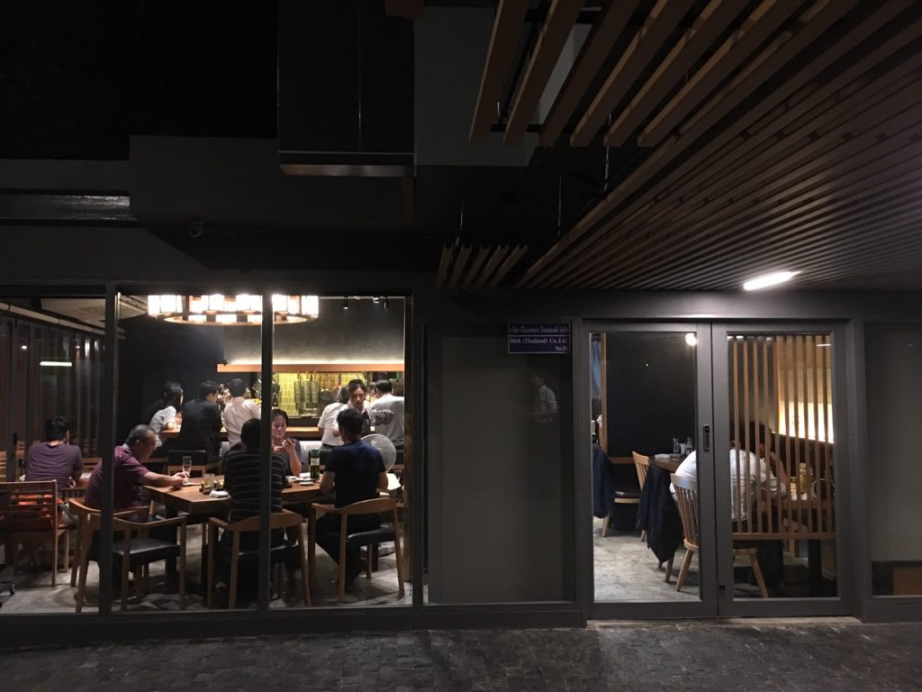 aburi Ishida,あぶり石田,トンロー駅,焼き鳥,日本料理,スクンビットソイ51,行き方,説明,住所