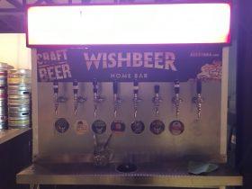 ウイッシュビア,Wishbeer Home Bar,Wishbeer,ビアホール,ビアガーデン,プラカノン駅,行き方,住所,説明,クラフトビール
