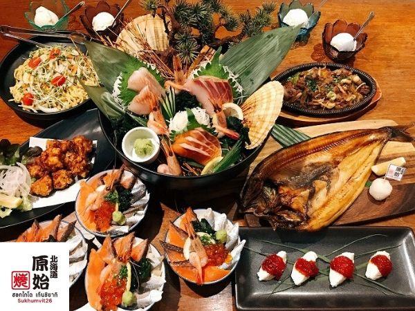宴会におすすめのコース北海道居酒屋原始焼き26店
